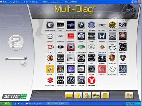 Multi Diag Access J2534 interface OBD2/EOBD Car scanner   obd2wholesaler   Scoop.it
