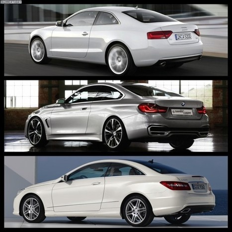 Photo Comparison: BMW 4 Series Coupe vs. Audi A5 vs. Mercedes-Benz C ... - BMW BLOG (blog) | Amazing Rare Photographs | Scoop.it