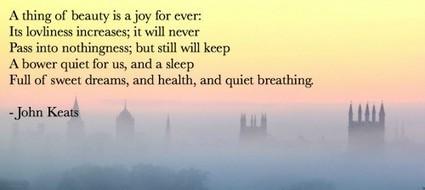 Poet Seers » John Keats | Romantics | Scoop.it