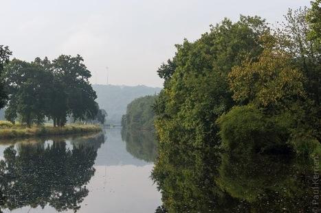 Bretagne - Finistère :  balade matinale sur le chemin de halage du canal entre 2 écluses (4 photos) | photo en Bretagne - Finistère | Scoop.it
