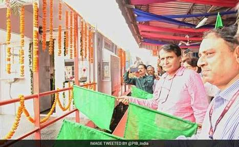 Railways Working To Run Fully Solar-Powered Trains: Suresh Prabhu | Solar Energy projects & Energy Efficiency | Scoop.it