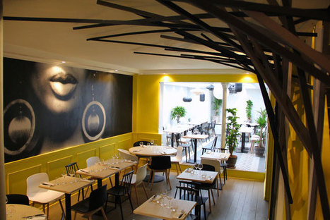 Restaurant Dix-Huit à Paris - Guide Fooding®   Resto   Scoop.it