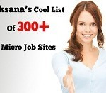 I Will Give You My Fresh List of 300+ Micro Job Sites For $5 | Micro jobs | Scoop.it