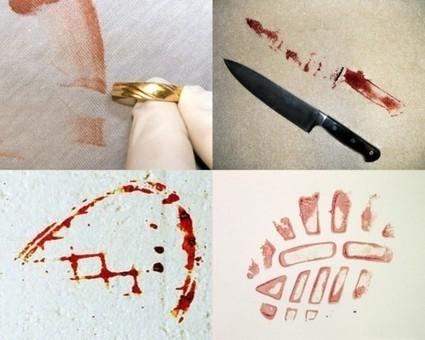 2) La morpho-analyse des traces de sang :: Police-scientifique2012 | TPE Maths-PhysiqueChimie | Scoop.it