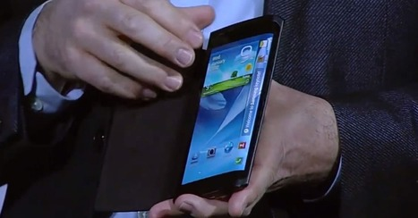 Samsung to Unveil Smartphone With Curved Screen in October | Breakthrough Innovation | Scoop.it