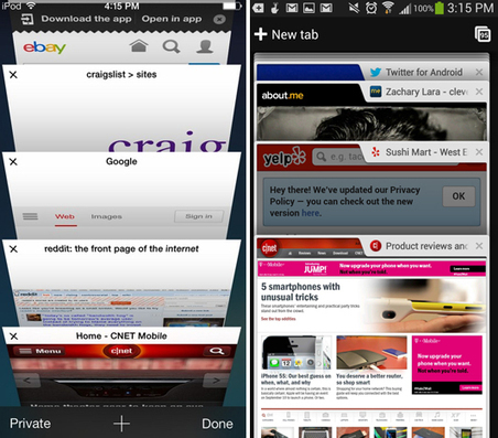 Those cool iOS 7 features? Android does that too | Android News And Tips | Scoop.it