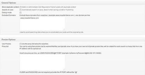 Plugin WordPress Anti Plagiat | Maveille | Scoop.it