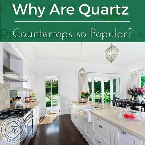 Why Are Quartz Countertops so Popular? - Flemington Granite | Home Improvement, Modular Construction, Modular Buildings, Prefabricated Building | Scoop.it