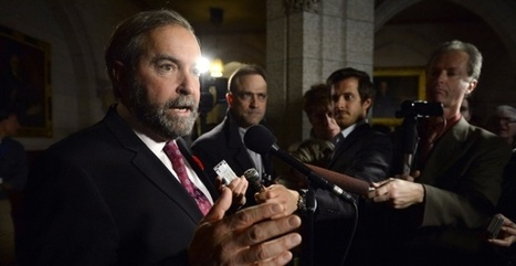 Mulcair unveils NDP energy policy with focus on the environment | WHS Beyond Power Update | Scoop.it