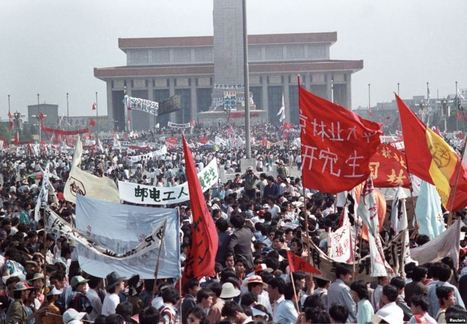 Reporter's Notebook: Tiananmen Square Reflections - Voice of America | NGOs in Human Rights, Peace and Development | Scoop.it