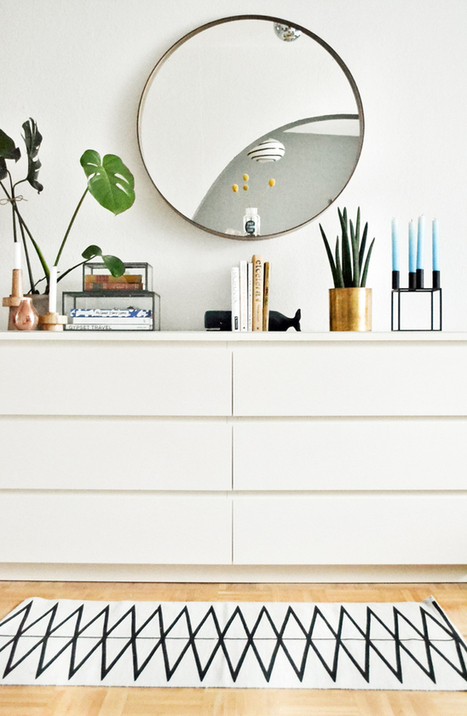 Happy Interior Blog: Home Update: A New Rug Adding Pattern | Interior Design & Decoration | Scoop.it