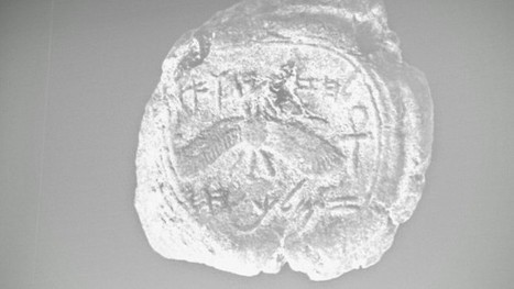 Seal bearing name of Judean king found in Jerusalem | Jewish Education Around the World | Scoop.it