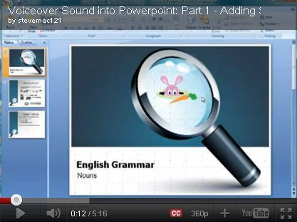 Adding Voiceover Sound to Powerpoint | Digital Presentations in Education | Scoop.it