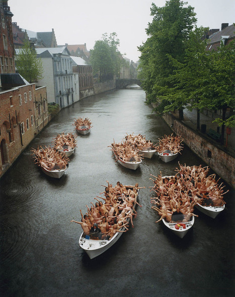 SPENCER TUNICK | Le nu en photographie | Scoop.it