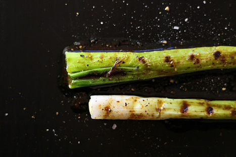 Delicious Tapas: Grilled spring onions with butter & japanese soy # 46   Tapas   Scoop.it