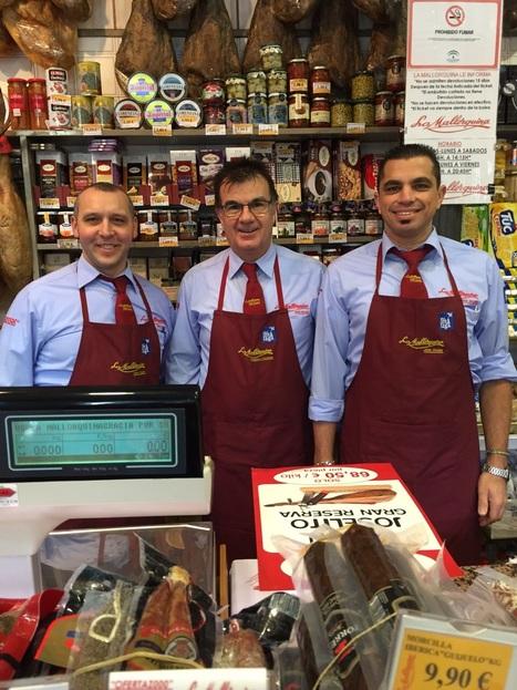 Un equipo de gala en cortadores de jamon   JAMON IBERICO   Scoop.it