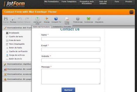 JotForm, crea fácilmente formularios para tu web | Recull diari | Scoop.it