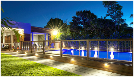 Vertical Cable Balustrades and Pool Fencing - Sentrel | Stylish Pool Fencing Balustrades Backyard | Scoop.it