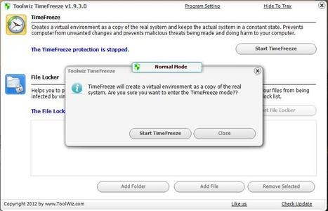 TimeFreeze, créer un bac à sable virtuel pour tester des applications | Agences web de Rennes | Scoop.it