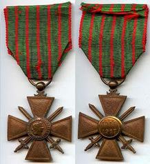 Châteauneuf et Jumilhac: Robert MESLAY, titulaire de la croix de guerre   Rhit Genealogie   Scoop.it