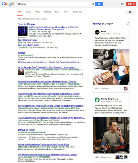 Google Search intègre les hashtags, mais avec Google+ seulement - Clubic | Google+ | Scoop.it