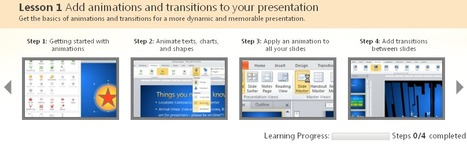 PowerPoint Skills Builder - video training series | Moodle and Web 2.0 | Scoop.it
