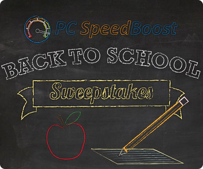 PC SpeedBoost Back to School Sweepstakes   PC SpeedBoost   PC Health Boost   Scoop.it