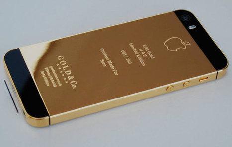 El iPhone 5S revestido de platino, en oro y versión rosa | Noticias de Joyería | Scoop.it