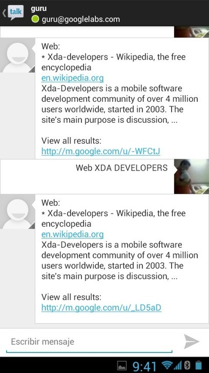 Google Now Functionality Available for All Through Google Talk – xda-developers | Daily Magazine | Scoop.it