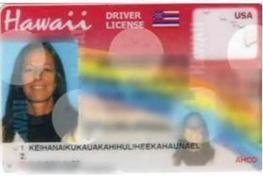 Janice Keihanaikukauakahihuliheekahaunaele a enfin réussi à faire inscrire son nom sur son permis de conduire | Un peu de tout pour toutes et tous | Scoop.it