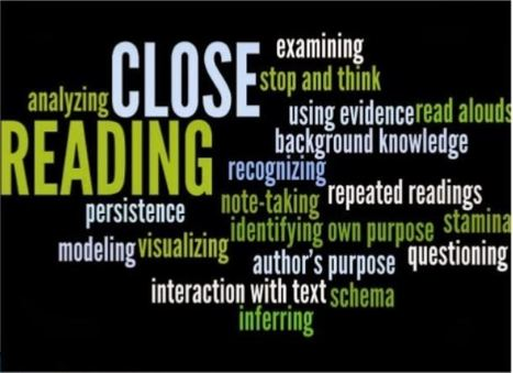 CLOSE READING: Connecting Growing Readers to Texts Responsively | Close Reading | Scoop.it