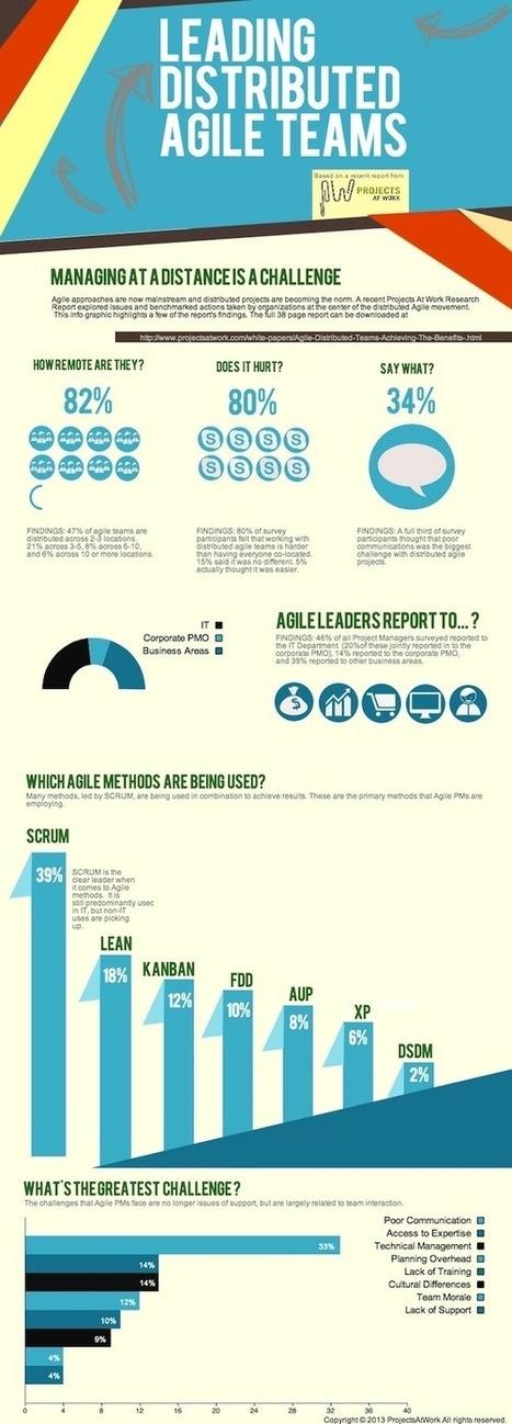 Infographic: Distributed Agile Teams | Virtual R&D teams | Scoop.it