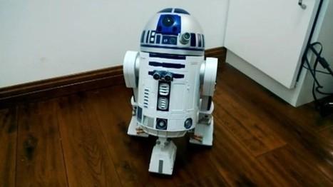 Un robot R2D2 fonctionnant avec un Raspberry PI | Semageek | Cyber ferme | Scoop.it