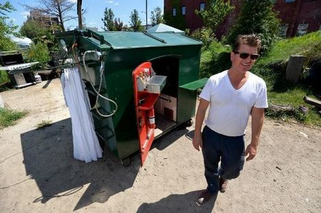 New York: la benne à ordures, un nouveau type d'appartement - Libération | Nouveaux lieux, nouveaux apprentissages | Scoop.it