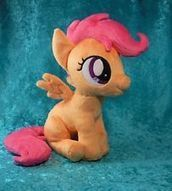 SCOOTALOO Sitting Plush - My Little Pony Friendship is Magic - Custom - MLP FiM | Mascot Factory for Baby Toys | Scoop.it