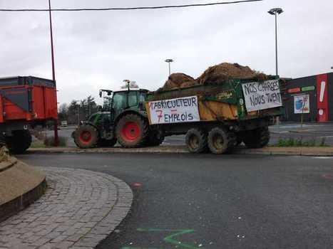 Dordogne : les agriculteurs continuent les blocages | Agriculture en Dordogne | Scoop.it
