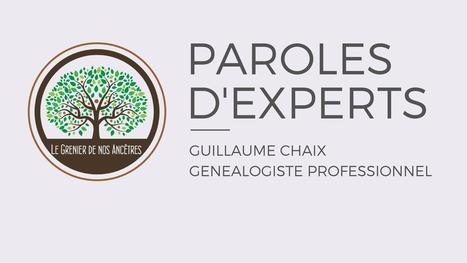 Présentation de #RDVAncestral par Guillaume Chaix - Paroles d'experts | Famicity | Généalogie | Scoop.it
