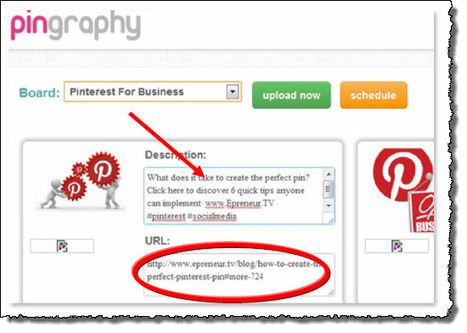 How to Schedule your Pins on Pinterest | Jeffbullas's Blog | Social Media Bites! | Scoop.it