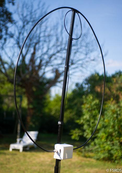 Loop magnétique portable home made type «Alex loop » - ARP 75 | Ham Radio | Scoop.it