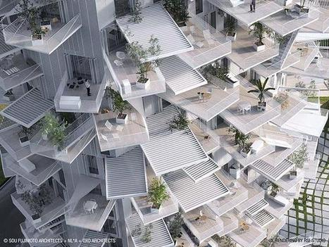 This Amazing High-Rise Apartment Building Looks Like A Giant Tree | LambC4 | Scoop.it