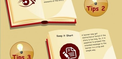 5 Tips to Incorporate Story Telling in E-Learning – An Infographic - e-Learning Feeds | Linguagem Virtual | Scoop.it