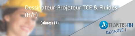 Dessinateur-Projeteur TCE & Fluides (H/F) | Emploi #Construction #Ingenieur | Scoop.it