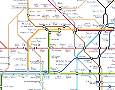CSS Tube Map by John Galantini | Web Side Story | Scoop.it