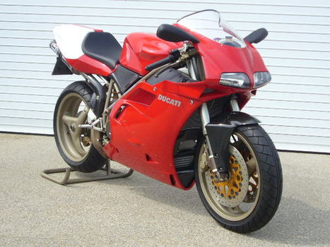 For Sale | 1998 Ducati 916 SPS | New, 1 mile |  eBay | Ductalk Ducati News | Scoop.it