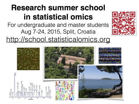 Research Summer School in Statistical Omics, Split, Aug. 2015 | Not related | Scoop.it