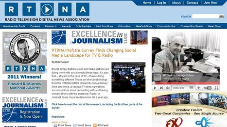 Radio Television Digital News Association | Top sites for journalists | Scoop.it