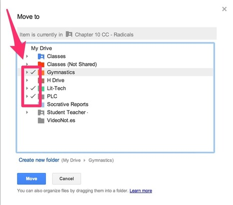 LHS Lit-Techs: Saving Files in Multiple Locations in Google Drive | iGeneration - 21st Century Education | Scoop.it