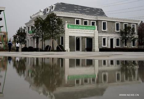 Une maison imprimée en 3D à Suzhou | Ressources pour la Technologie au College | Scoop.it