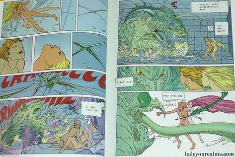 Le Monde d'Edena – Moebius Graphic Novel Book Review ... | Erotic Comics | Scoop.it