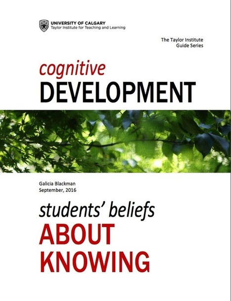 Cognitive Development   Taylor Institute for Teaching and Learning   MOOCs and Flipped Learning   Scoop.it